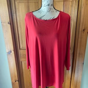 Red top in XL